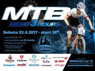 Startovka na 3 hours night MTB